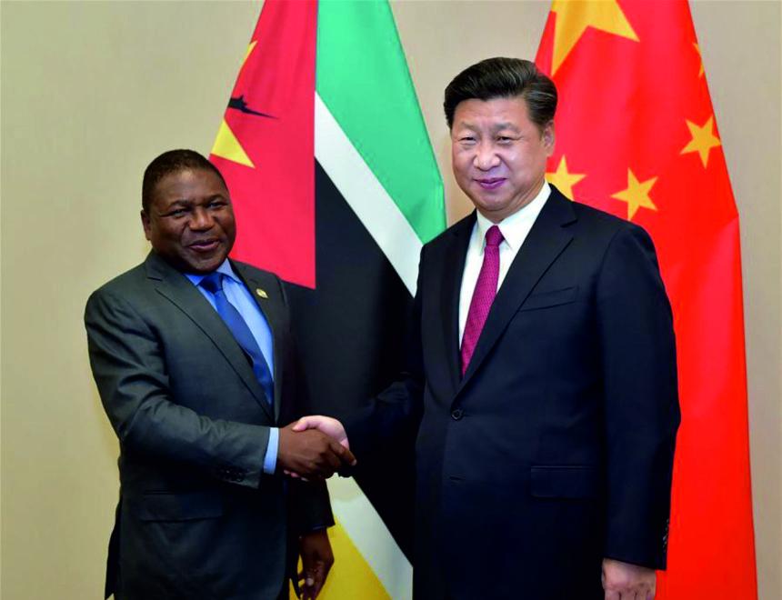 , CHINA INVIERTE 52 MILLONES DE DOLARES EN INFRAESTRUCTURAS EN MOZAMBIQUE